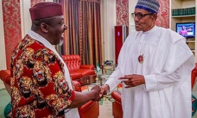 Rochas Okorocha blames Oshiomhole, Uzodimma for APC's loss in South-East
