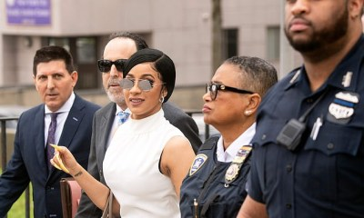 Cardi B arrives in court in $16,000 outfit as she rejects plea deal in strip club assault case