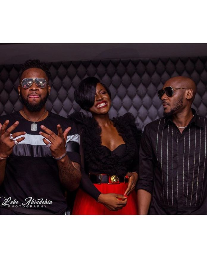 Alex paints it red at the Campari 'makeitred' with 2face and Teddy A (Photos)