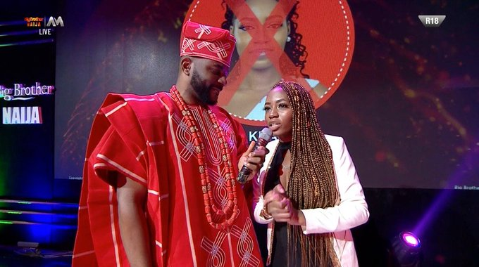 BBNaija 2019: Khafi has been evicted from Big Brother Naija show