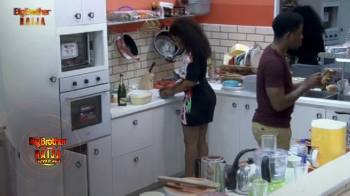 BBNaija 2019 Day 72: See What Happened When Tacha And Seyi Find themselves in same ship