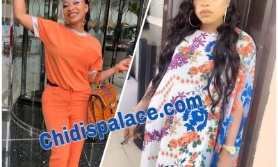 Tonto Dikeh exposes Bobrisky after threatened to block him on IG