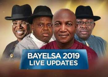 Live Result From Bayelsa Governorship Election by INEC