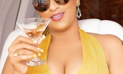 "Juliet Ibrahim toasts to ""douchebags"" and ""a**holes"" after her ex Iceberg Slim said ""Na cheat I cheat, I no kill person"""