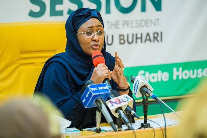 "Coronavirus: ""My daughter has gone into self-isolation"" - Aisha Buhari"