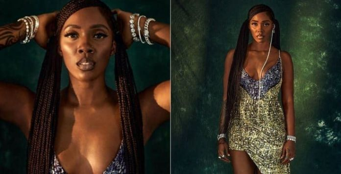 """The modern African woman is being limited"" says Tiwa Savage"