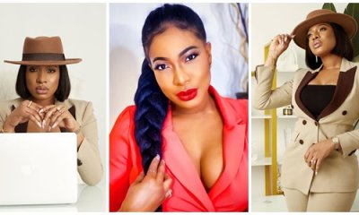 Nollywood Actress Chika Ike shares beautiful photos while on a movie set