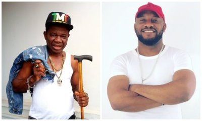 Yul Edochie celebrates Chiwetalu Agu for his contribution to Nollywood