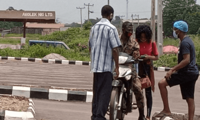Lady disregards her dad, goes home with the man she met at isolation center in Oyo