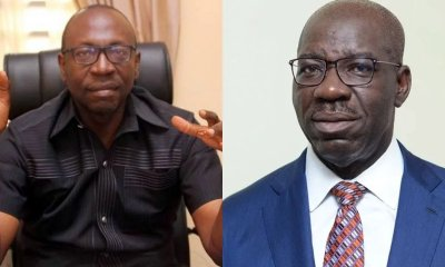 Edo Election: Ize-Iyamu begs Obaseki to APC, says I've realized my mistakes, please return...