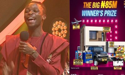 See What Prince Wanted To Give Laycon But Ebuka Prevented Him During BBNaija After Party (Photos)