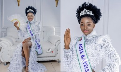 Miss Bayelsa 2020 Queen Tamara shares new photos on Independence day, see what she said