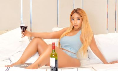 Mercy Eke show off her BANGING body in HOT bikini after breakup with Ike Onyema, says chose 'wine or water'