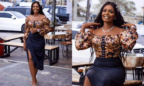 """I am a limited edition"" – Kaisha says as she wears an 'Unlimited' attire"