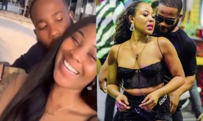 "BBNaija Update: ""Happy marriage life dears"" – Fans react as Kiddwaya kisses Erica"