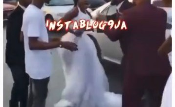Bride aborted wedding after her chief bridesmaid slept her hubby on their wedding day (Video)