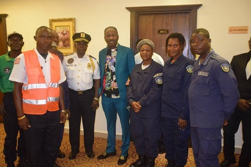 Apostle Suleman visits Libra government