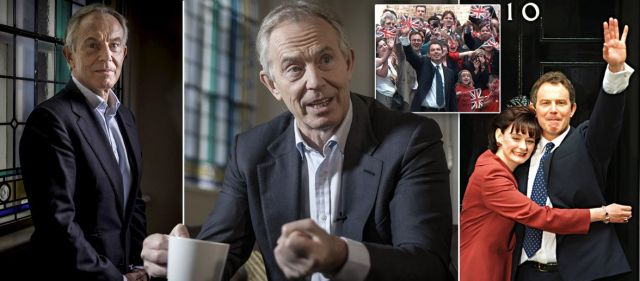Tony Blair exclusively reveals why he's returning to politics