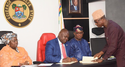 Ambode endorses death penalty for kidnappers