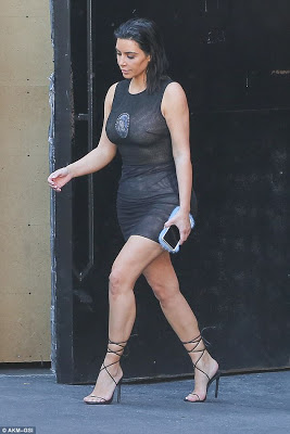 Kim Kardashian Steps Out Again In What Appears To Be An Image Of Virgin Mary 1