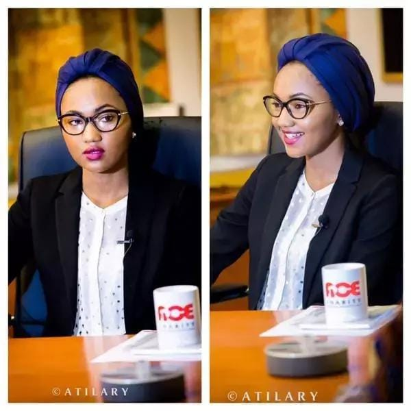 Amazing Facts Buhari's Daughter Zahra (Photos/Video)1