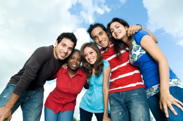 Diverse group smiling - Billy Graham Daily Devotional - true Friendship