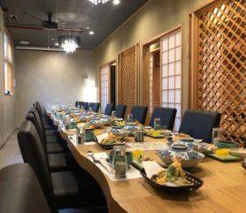 テーブル席(会食)