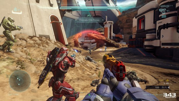 Halo 5 Guardians Warzone Firefight Focus Fire