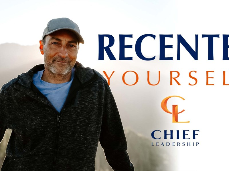 Recenter Yourself | Coaching and Leadership Tips