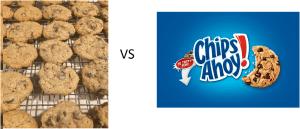Homemade versus Store bought cookies