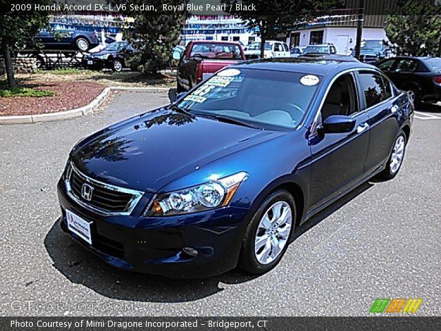 Blue Honda Accord