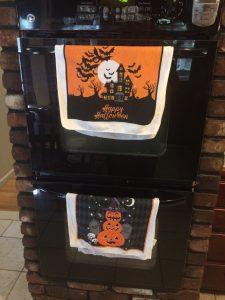 Decorative Halloween Towels
