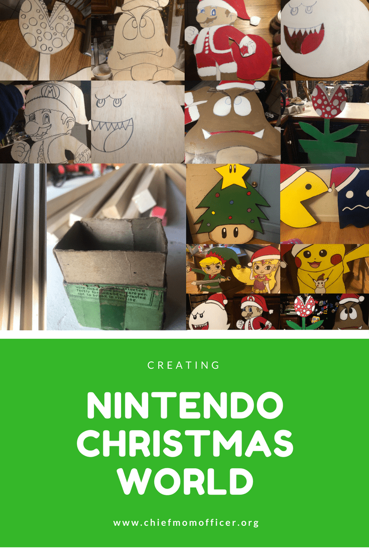 Creating Nintendo Christmas World