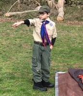 Boy scout campout