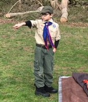 Boy scout campout