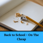 Back to School - On The Cheap