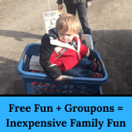 Free Fun + Groupons = Inexpensive Family Fun