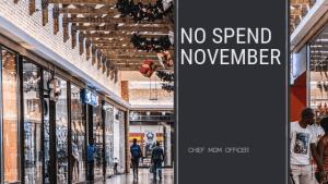 No spend november