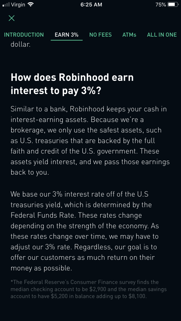 Robinhood 3% strategy explained