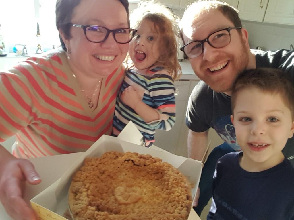 K. Barnes Family Pi Day - Kristine Barnes