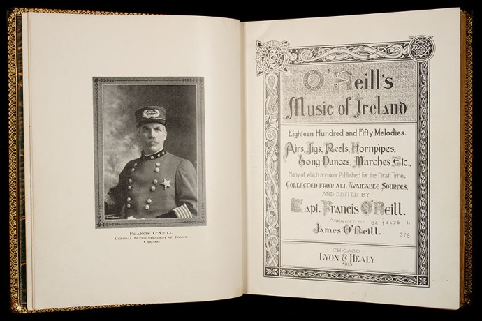 Frontispiece of O'Neill's Music of Ireland.