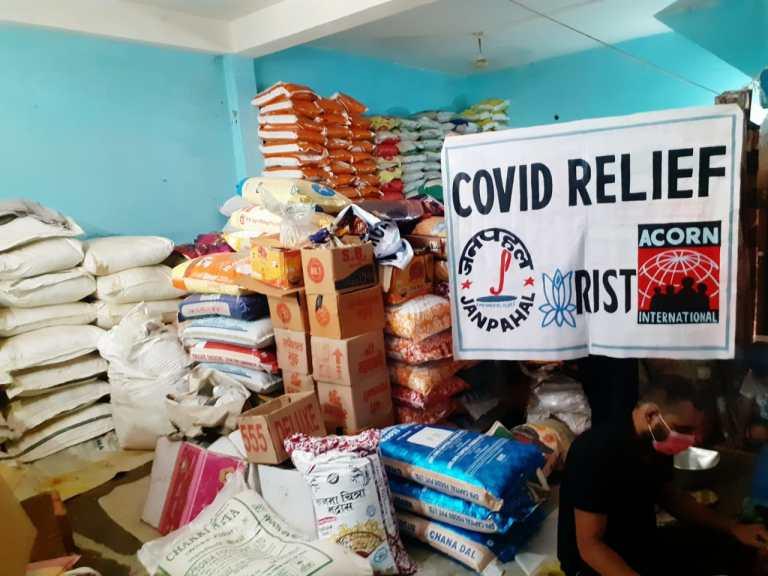 COVID relief, COVID crisis in India, ACORN India