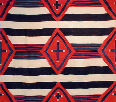 Classic Navajo Third Phase Chiefs Blanket