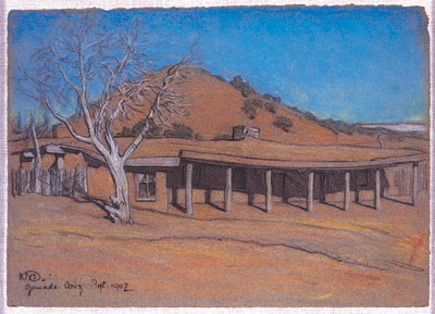 Hubbell trading post by maynard dixon
