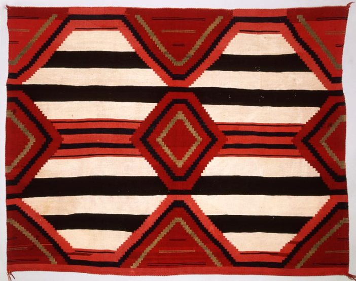 Late Classic Navajo Third Phase Chiefs Blanket