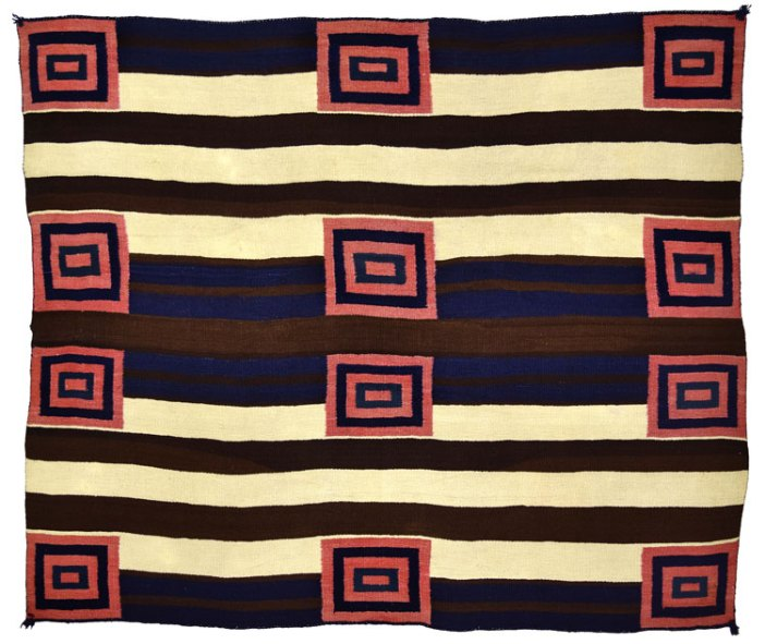 Second Phase Navajo Chiefs Blanket