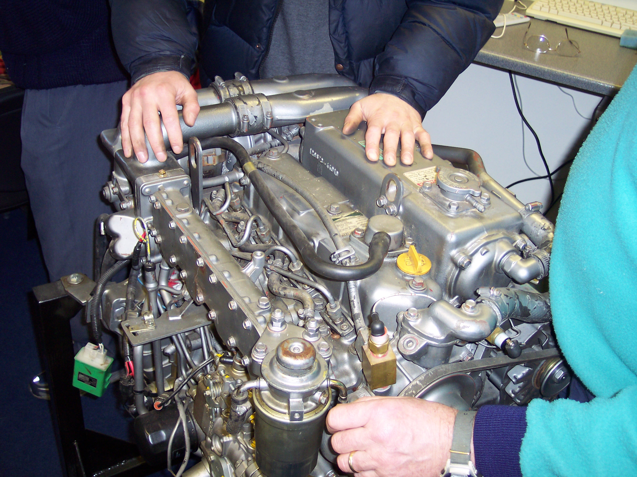 Marine Diesel Engine Maintenance Training Course