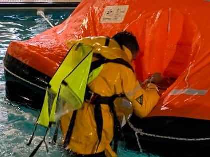RYA MCA Sea Survival Liferaft Training