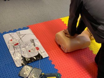 AED use on STCW EFA