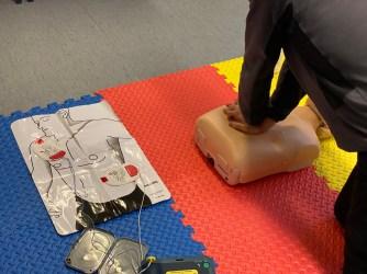 AED use on STCW EFA